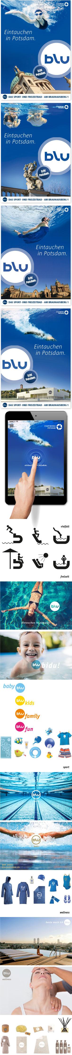 Naming Berlin, Logodesign Stadtwerke Potsdam, Kampagne by logolotte